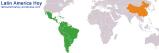 Comercio entre América Latina yChina