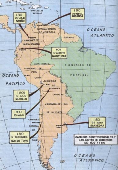 Juntas de Gobierno 1809-1810