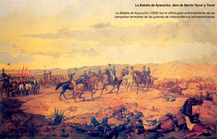 Batalla de Ayacucho Martin Tovar y Tovar