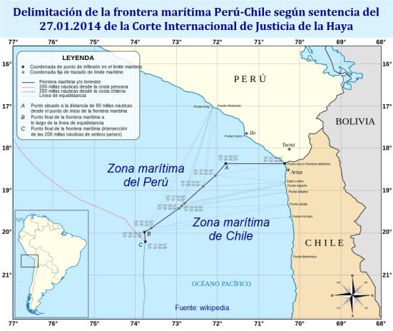 Delimitacion frontera maritima sentencia CIJ